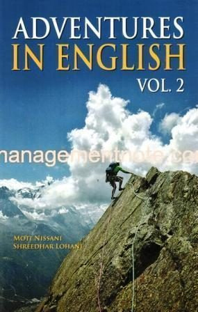 Adventures in English Volume II – Complete Four Levels| Management Notes
